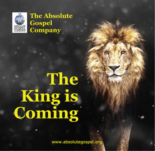 The King is Coming musical CD